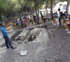 Unas excavaciones descubren restos de una villa romana en Ribaforada