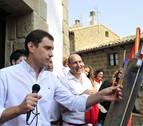 Jesús Bañales prende la mecha en Artajona