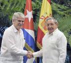 Dastis agiliza en Cuba los preparativos para el viaje oficial de los Reyes