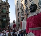 Los gigantes vuelven a bailar por Pamplona este sábado por el Privilegio de la Unión