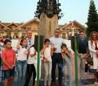 La asociación de Vecinos de Gorraiz lanzó un cohete que se hizo esperar