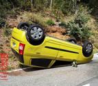 Imputada al volcar con su vehículo y cuadruplicar la tasa de alcohol en Marañón