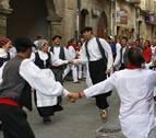 Tarde de danzas, Vísperas y bailes recuperados en Sangüesa