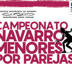 Inscripción abierta para el Campeonato Navarro de Menores por Parejas