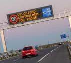 Dos cámaras controlan el uso del cinturón en la autopista, en Tudela