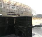 Una empresa de Tafalla suministra material al nuevo estadio del Atlético de Madrid