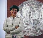 Amaya Aranguren lleva a la Ciudadela la simbología del círculo
