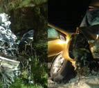 Dos jóvenes de Ziordia y Lakuntza mueren en un choque frontal en Álava