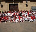 Los niños 'agrandan' las fiestas de Villafranca