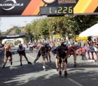 Ewen Fernandez y Rocío Berbel establecen nuevos récords en la Pamplona-Puente