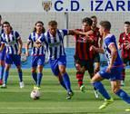 Promesas, Izarra y Peña Sport suman cinco jornadas sin ganar