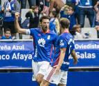 El Oviedo vence al Cádiz y aprieta la parte alta de la clasificación