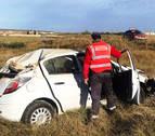 Dos heridos en un accidente en Pitillas en el que el conductor da positivo