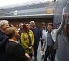 La Puerta del Juicio de Tudela lleva los valores de la convivencia al Parlamento