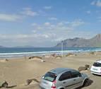Un joven muere ahogado en la playa de Famara de la isla de Lanzarote