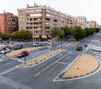 El Ayuntamiento plantea una rotonda en el cruce de Pío XII  con la avenida Navarra