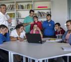 Ondas de esfuerzo en la radio del centro de educación Isterria (Ibero)
