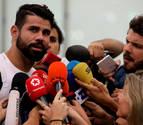 Diego Costa llega a Madrid para firmar: