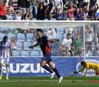 El Huesca cortó la racha positiva del Valladolid