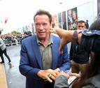 San Sebastián recibe a Schwarzenegger al grito de