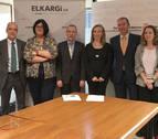 Navarra firma con Elkargi un convenio para mejorar la financiación de empresas
