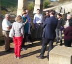 Eslava pide apoyos para un centro museográfico en Santa Criz