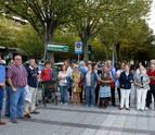 Vecinos y comercios se unen para tratar de parar la reforma de Pío XII en Pamplona
