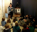 El Palacio Real de Olite estrena material para las visitas guiadas escolares