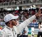 Hamilton saldrá primero y su gran rival, Vettel, último