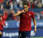 """El delantero de Osasuna David Rodríguez: """"Es un partido especial en un buen momento"""""""