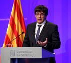 Puigdemont reclama la retirada de la Policía Nacional y la Guardia Civil de Cataluña