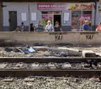 Cuarto día consecutivo sin circulación de trenes en entorno de Murcia