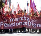Las marchas de jubilados llegan este lunes a Madrid reclamando pensiones dignas