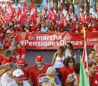 Las marchas de jubilados reclaman en Madrid pensiones dignas