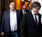 Puigdemont responde a Junqueras que se marchó para preservar la presidencia