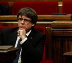 El miércoles, pleno en el Parlament para defender la investidura de Puigdemont