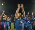 La celebración vikinga de Islandia tras clasificarse para el Mundial