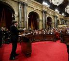 El Parlament recurre el 155 ante el TC, al verlo