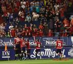 Un gol de Torró aúpa a Osasuna al liderato de Segunda