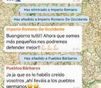 El ingenioso método de un profesor para enseñar historia a través de Whatsapp