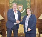 Ayuntamiento de Pamplona y Cruz Roja colaborarán en planes de protección civil