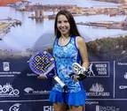 Martina Fassio, subcampeona en categoría infantil del Mundial