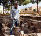 De jugar con 'quesos' en Ribaforada a una villa romana