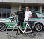 Mikel Martín gana una bicicleta del equipo Caja Rural Seguros con Diario de Navarra