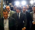 Puigdemont no contempla por el momento convocar elecciones anticipadas