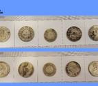 Las 66 monedas de oro y plata que intentaban vender en Pamplona acaban en el museo