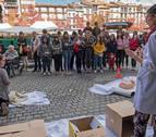 El Orcoyen estrena con éxito su mayor presencia en la calle con la jornada de reanimación
