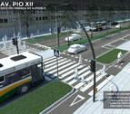 Los hosteleros de Pío XII valoran puntos de parada para autobuses turísticos