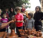 Todo por la artesanía en las ferias de Tafalla