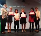 La empresaria Silvia Ezquerra recibe el premio Mujer Rural de Navarra 2017